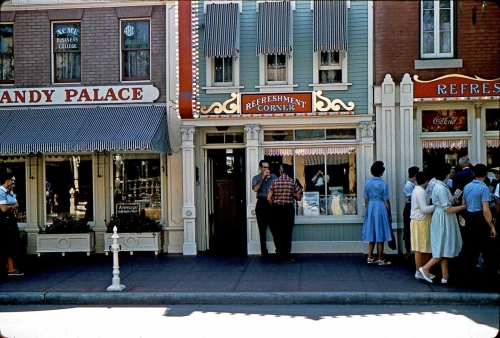 Disneyland Main Street Forced Perspective