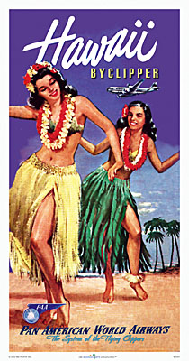 Hawaii Clipper Poster