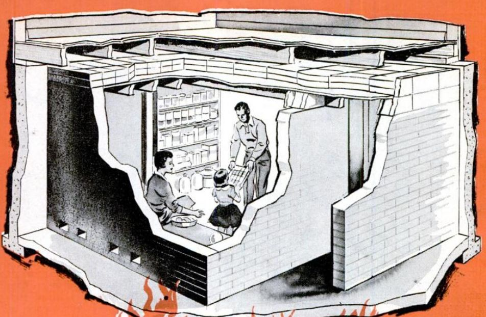Home Fallout Shelter 1960