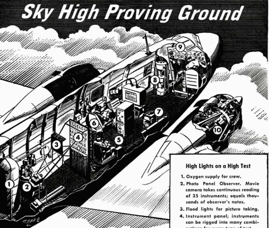 Wright Cyclone Engine World War 2 Aircraft Cutaway 1945
