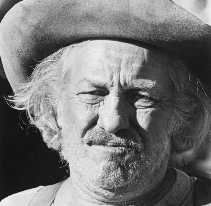 Strother Martin in Rooster Cogburn