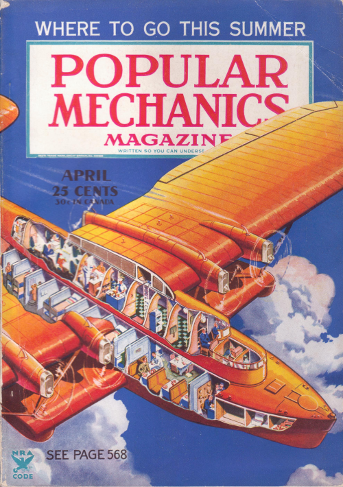 Popular Mechanics airplane
