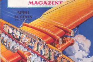 Flying Boat (Generic) Cutaway, 1935