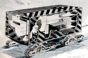 Arctic Wanigan Cutaway, 1950