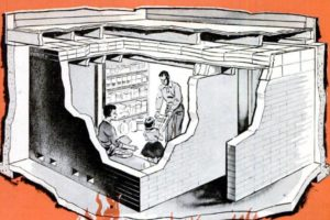 Home Fallout Shelter, 1960