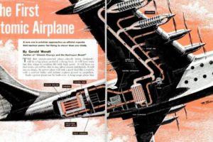 Atomic Airplane Cutaway, 1951
