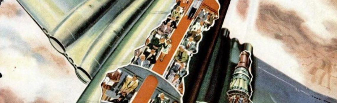 DeHavilland Comet Cutaway, 1950