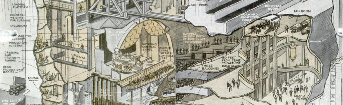 Radio City Music Hall Cutaway, 1930