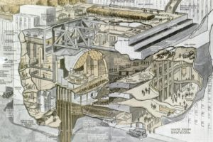 Radio City Music Hall Cutaway, 1930