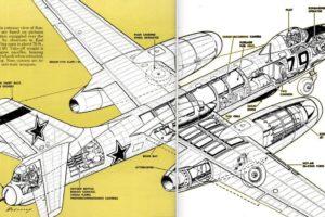 Soviet TU-10 Two-Jet Bomber Cutaway, 1951