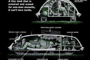 Turtle Personal Tank, 1952