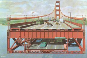 Golden Gate Bridge, 1968