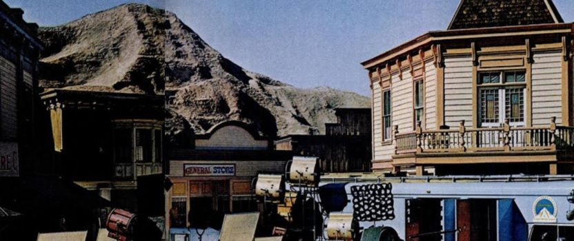 Mountain in the Middle of L.A.:  Paramount Studios' Western Street and Its Fake Mountain
