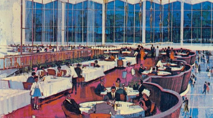 Screw You, Food Court!  When Department Store Restaurants Reigned