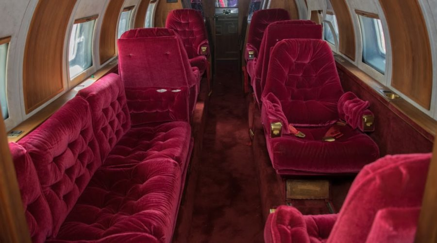 The Grandeur and Faded Glory of Elvis' Private Jet Rotting in the Desert