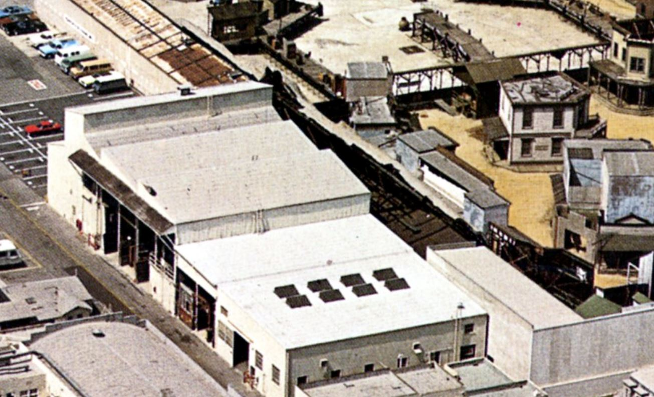 Paramount Backlot 1976 Mountain
