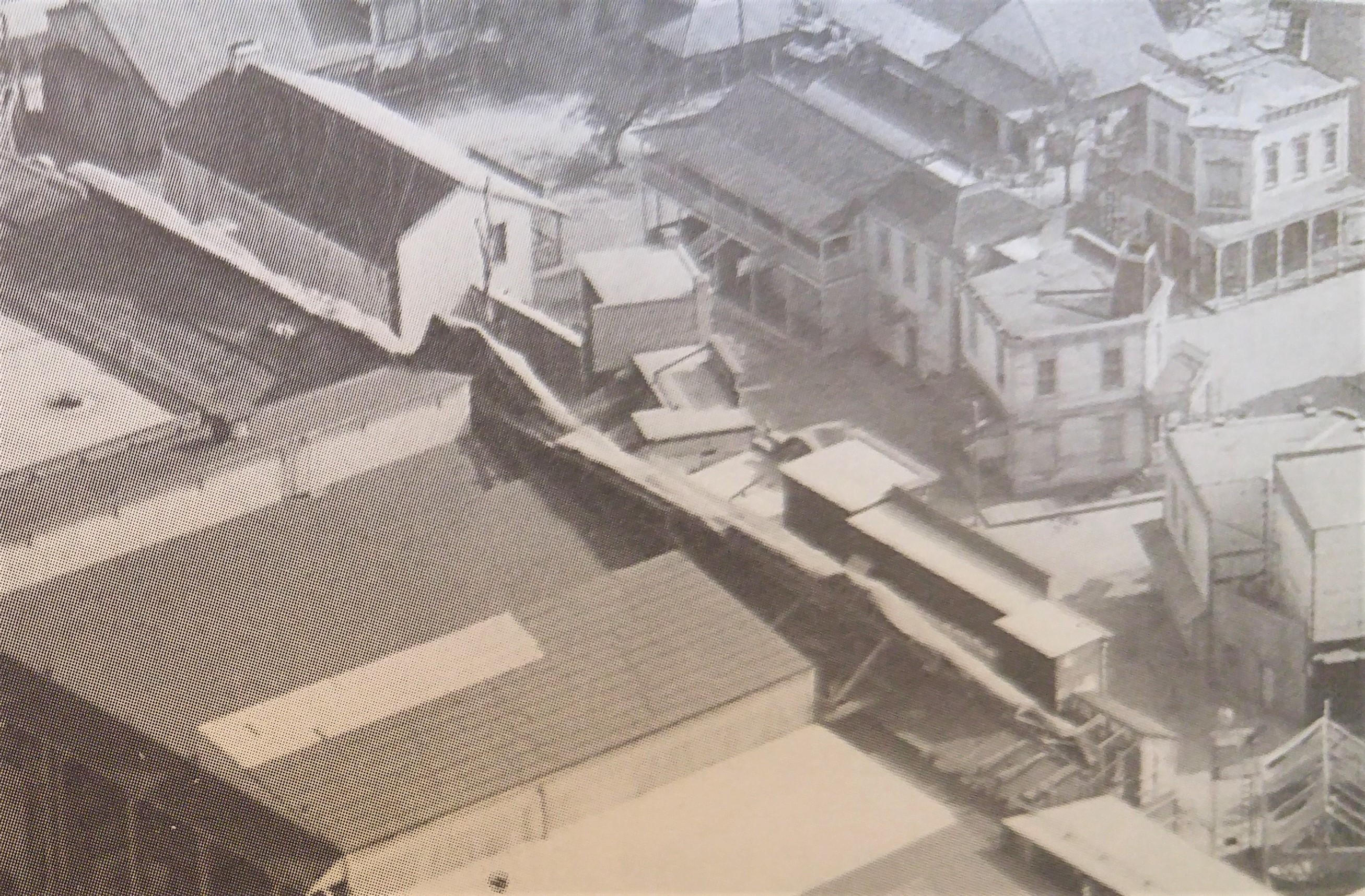 Paramount Backlot Aerial View 1960 - Close Up