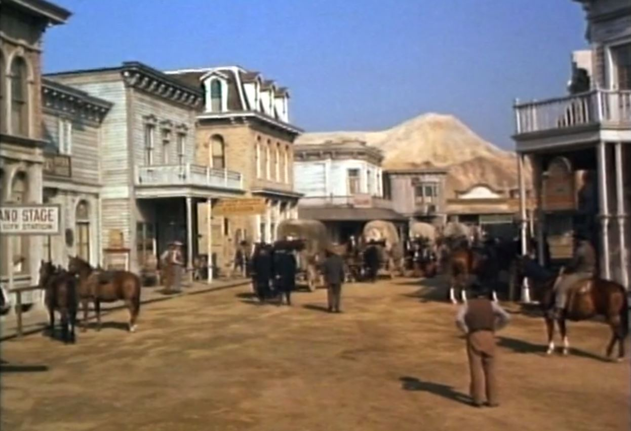 Paramount Studio Mountain in Bonanza