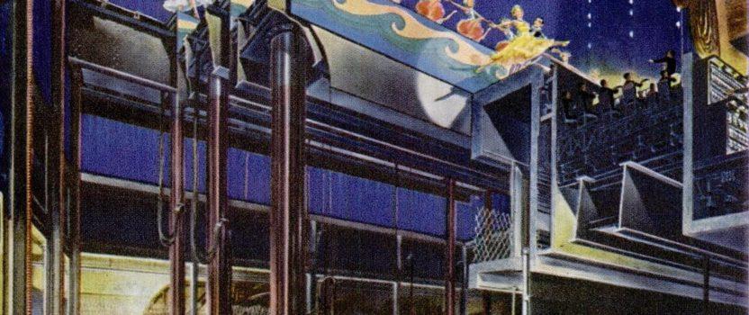Radio City Music Hall Stage Cutaway, 1950