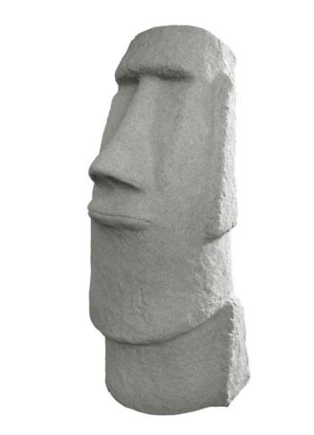 Emsco Resin Tiki Head