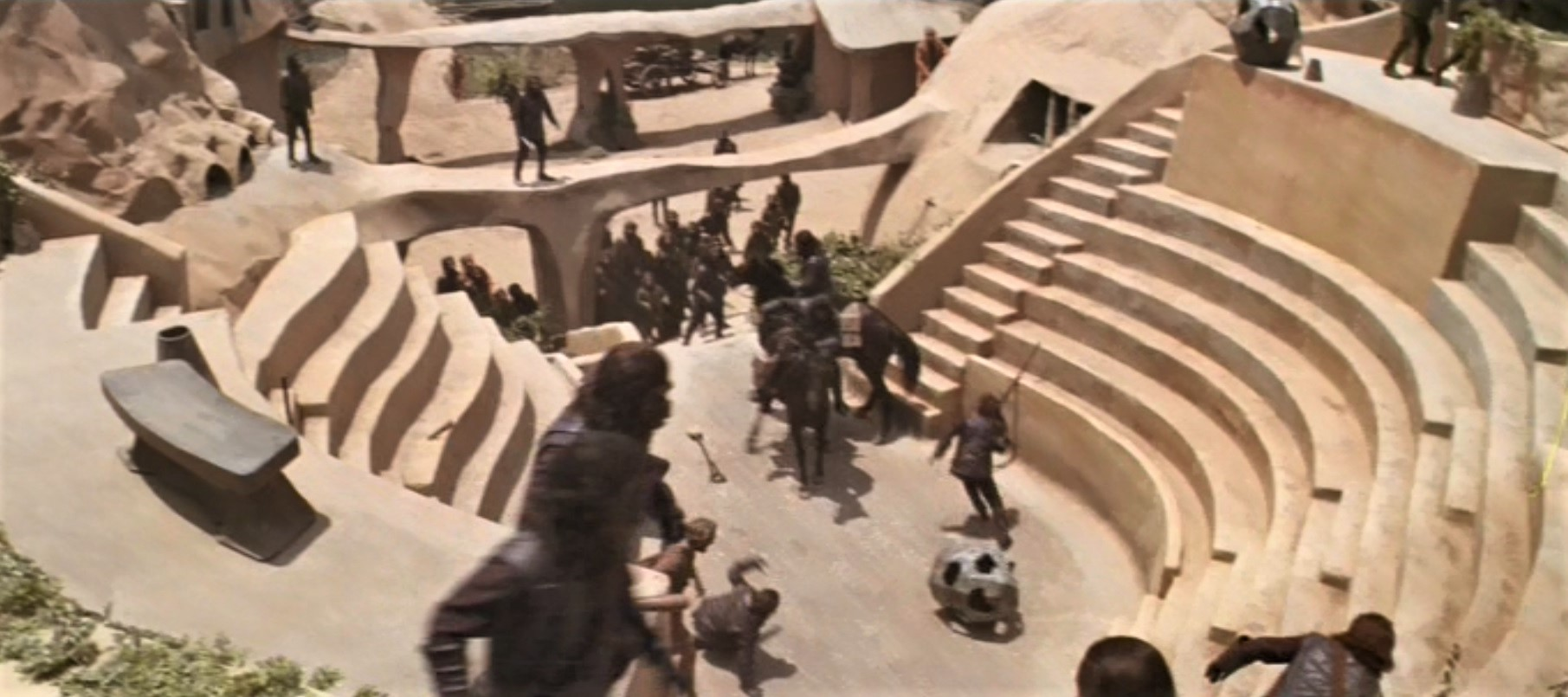 Planet of the Apes Set Amphitheater
