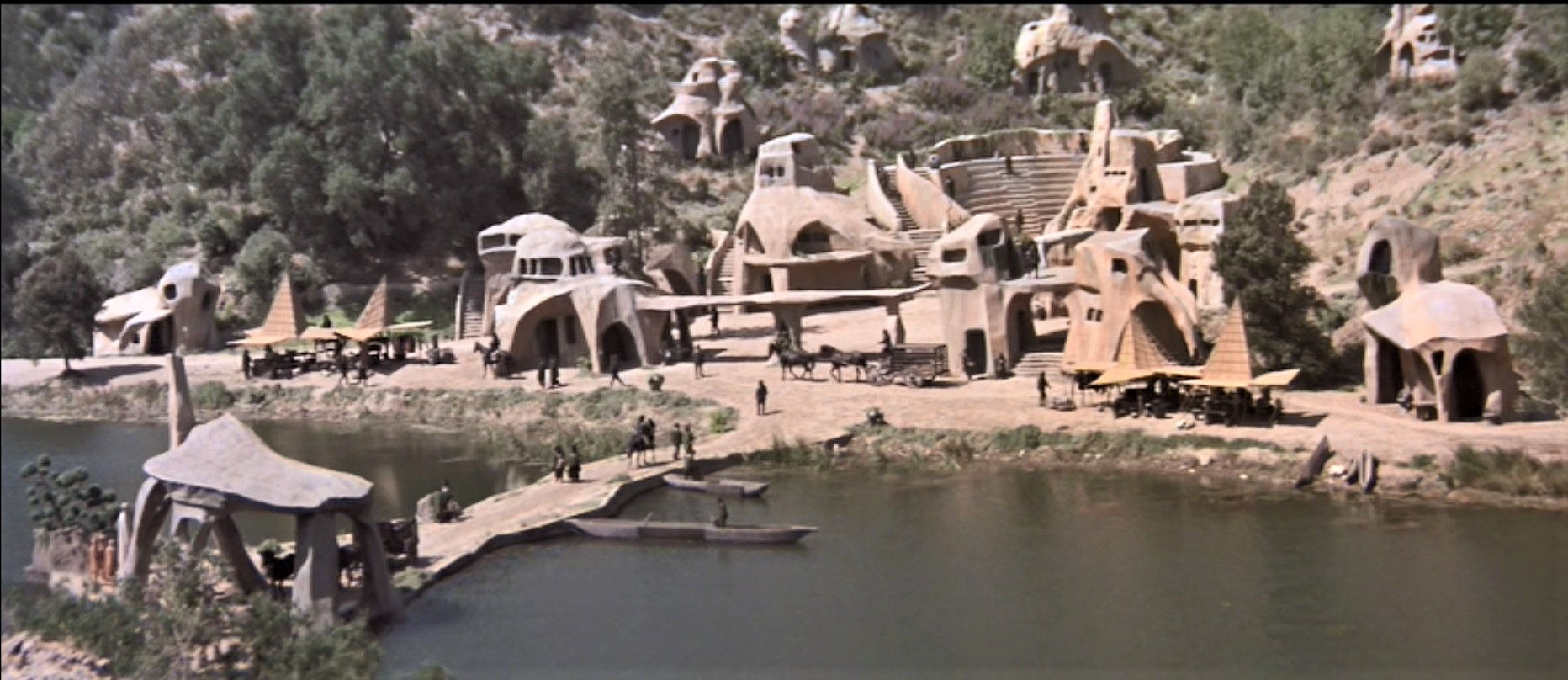 Planet of the Apes Village Set