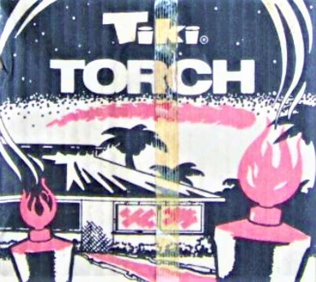 Tiki Torch Original Package and Artwork