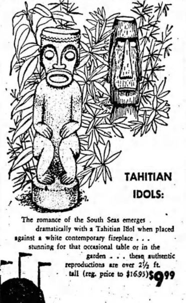 Vintage Tahitian Idols