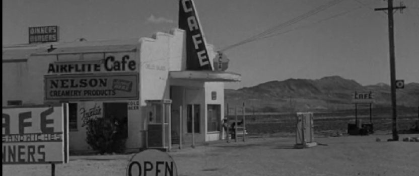 "The Real-Life Airflite Cafe from Twilight Zone's ""100 Yards Over the Rim"""
