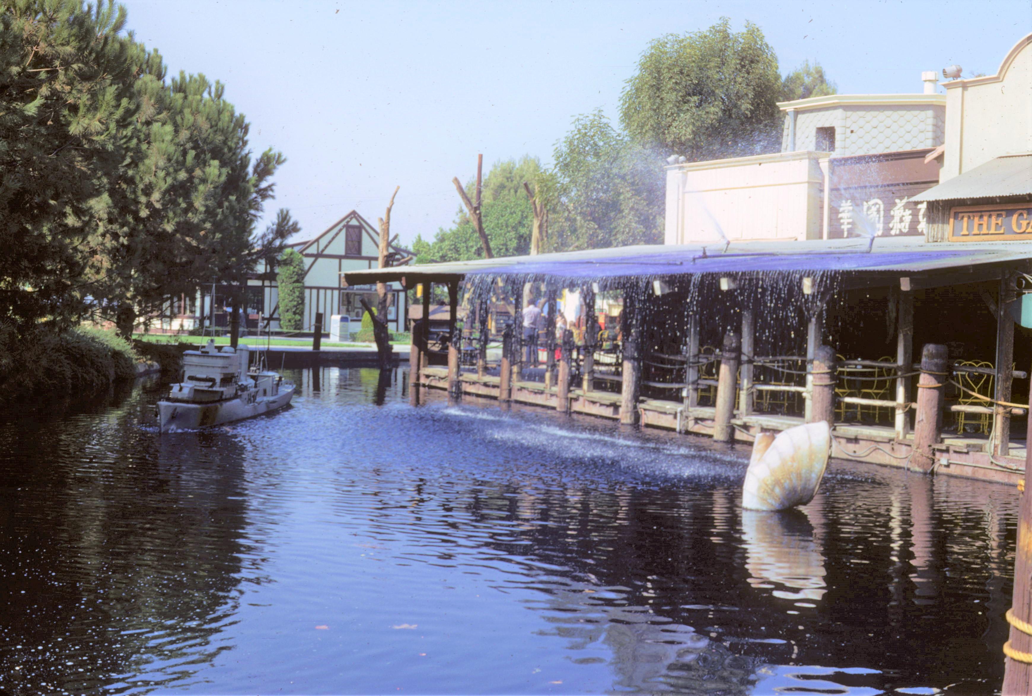 Universal Studios 1972 - Exterior Sea Port