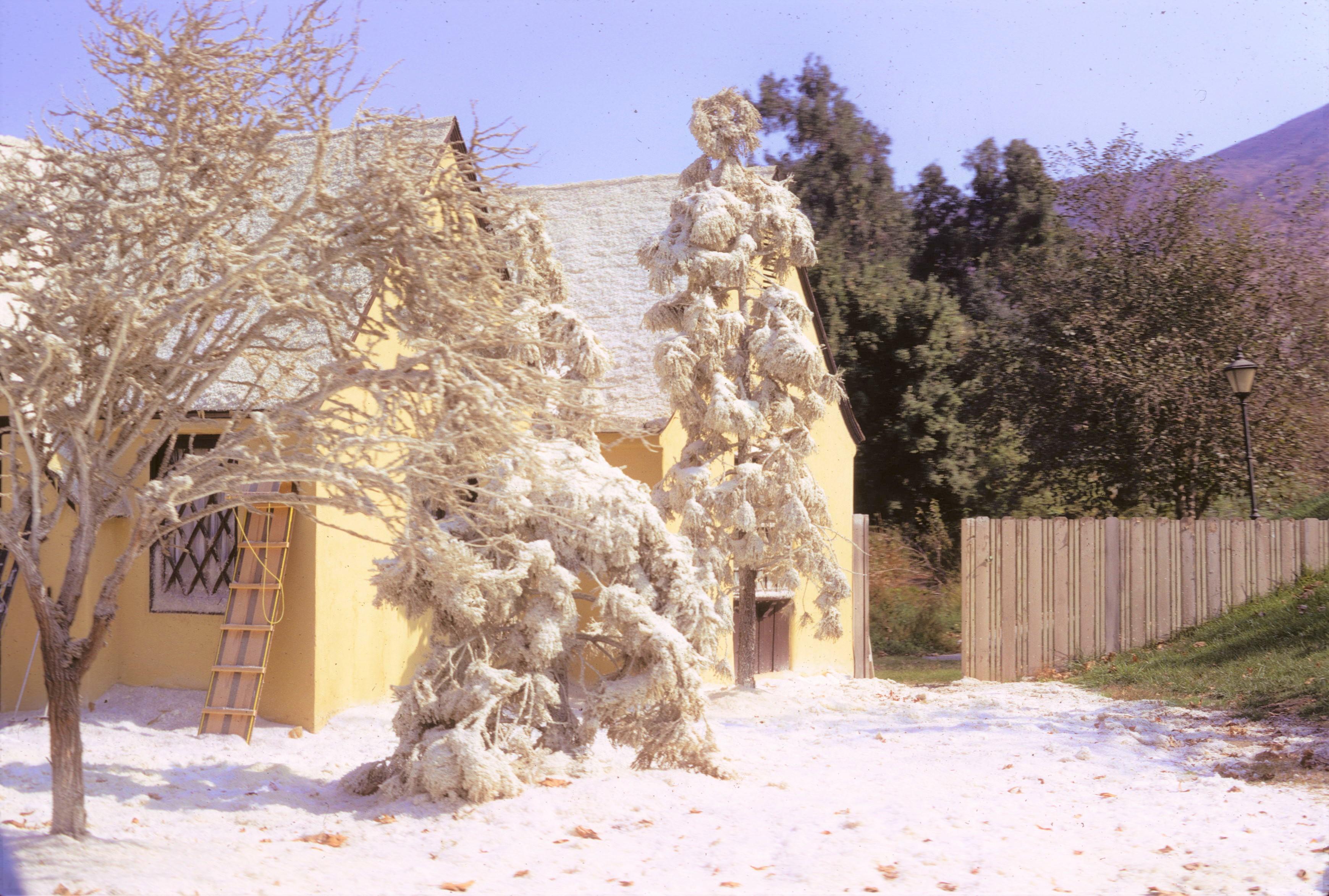 Universal Studios 1972 - Exterior Snow Set