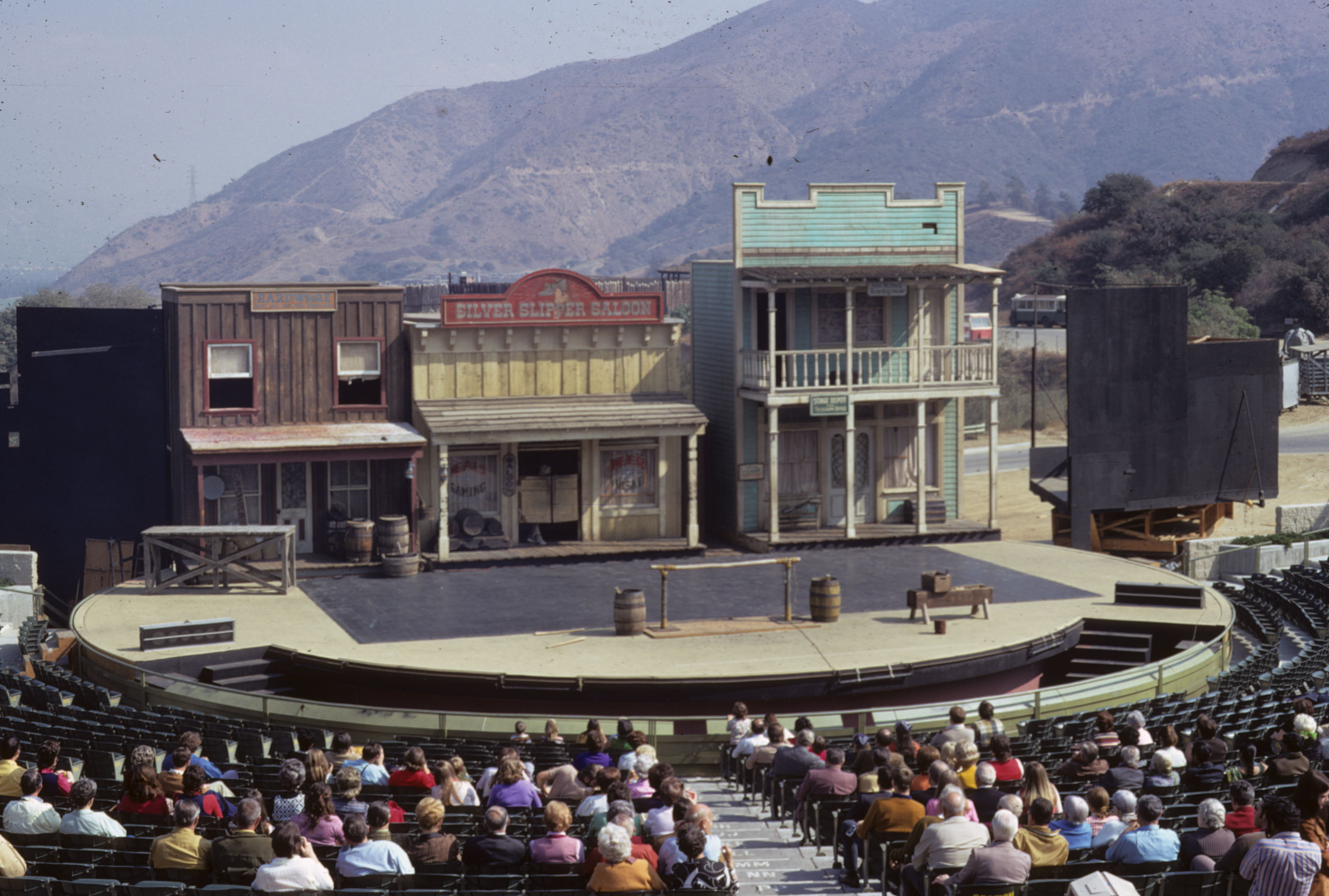 Universal Studios 1972 - Western Show with Stunt Men