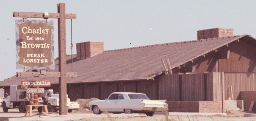 Before Borderline Bar Grill Was Charley Browns Restaurant
